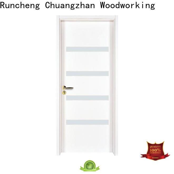 Runcheng Chuangzhan Custom exterior doors with glass for business for villas
