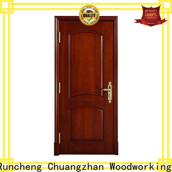 Runcheng Chuangzhan custom solid wood interior doors factory for hotels