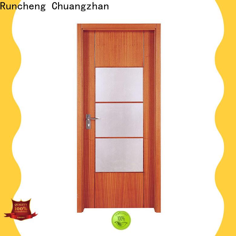 Runcheng Chuangzhan modern solid wood interior doors for business for villas