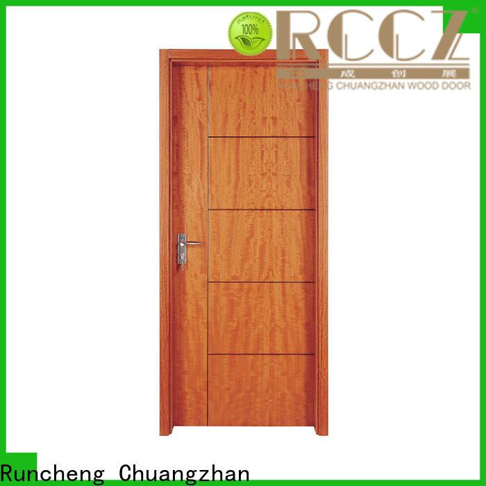 Runcheng Chuangzhan High-quality hardwood internal doors supply for homes