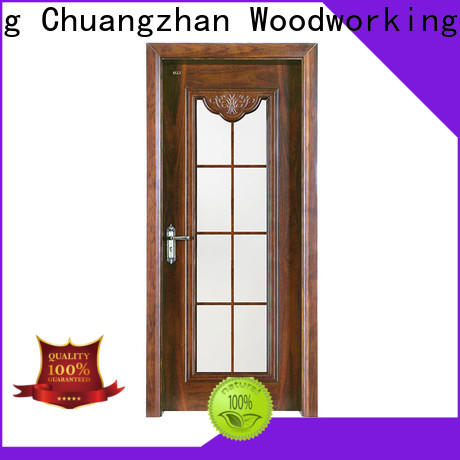 Runcheng Chuangzhan Latest indoor solid wood doors suppliers for hotels