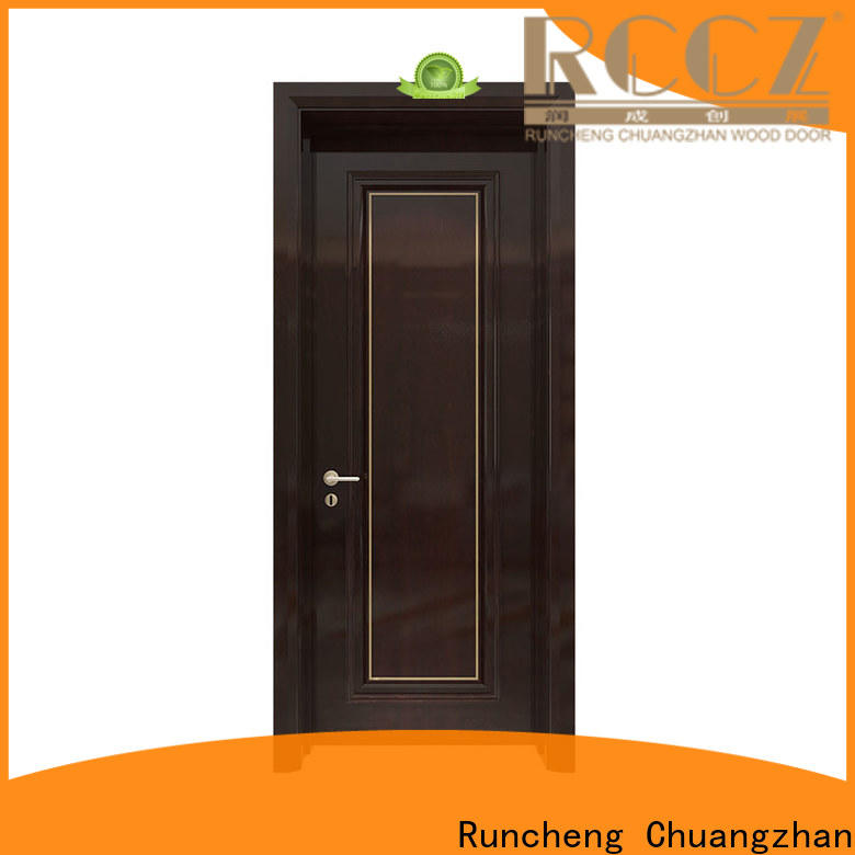 High-quality wooden double door for business for hotels