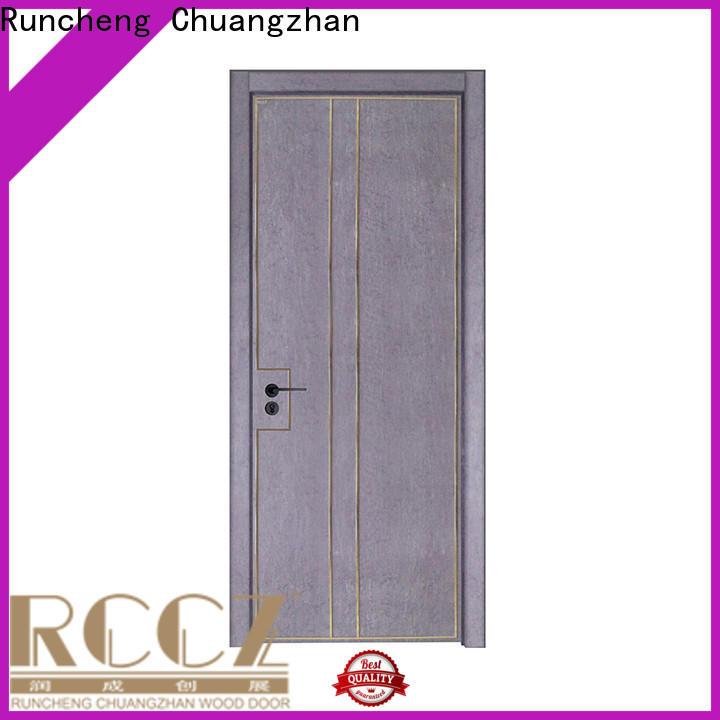 Custom real wood interior doors suppliers for villas