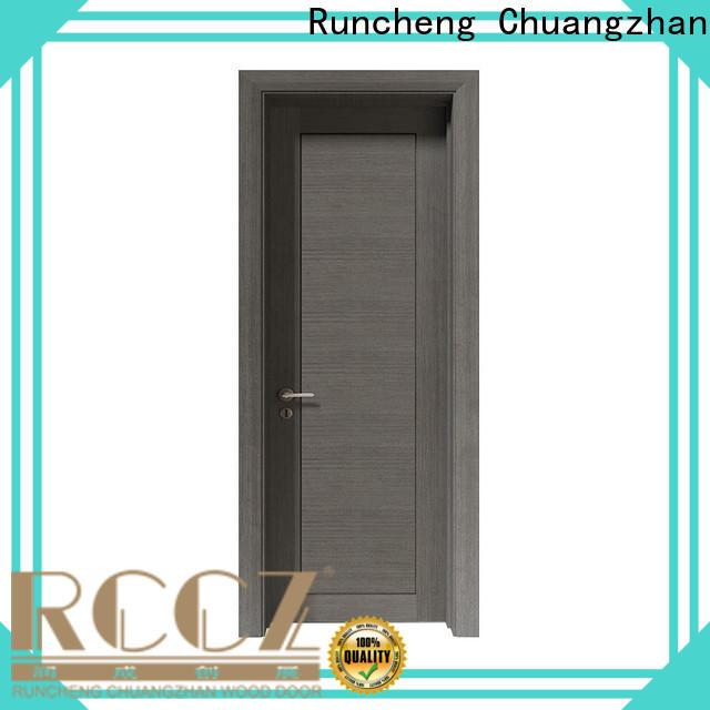 Runcheng Chuangzhan interior veneer doors factory for indoor
