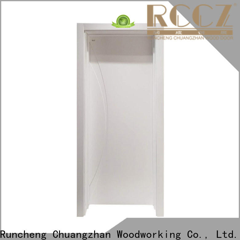 Runcheng Chuangzhan Best paint interior wood doors suppliers for offices
