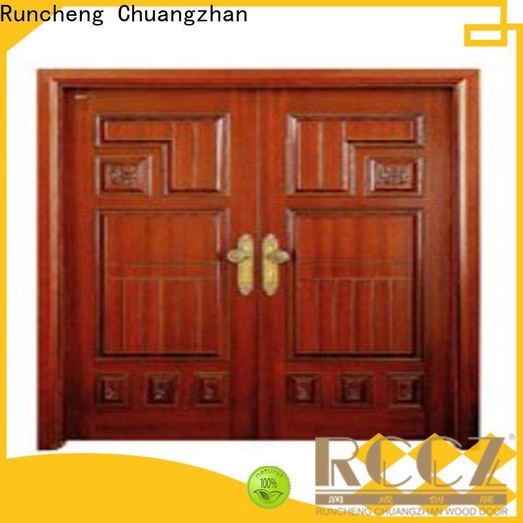 Runcheng Chuangzhan Best double door design manufacturers for homes