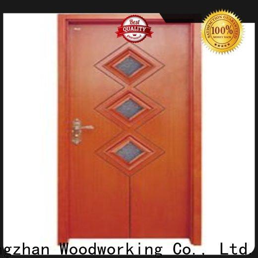 Runcheng Chuangzhan high-grade white glazed interior doors suppliers for homes