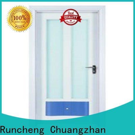 New glazed wood door company for villas
