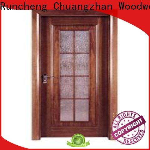 Latest wooden flush door price list design supply for villas
