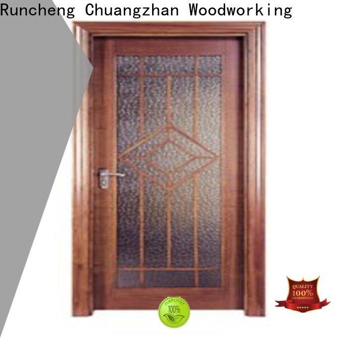 Runcheng Chuangzhan modern hardwood flush door for business for homes
