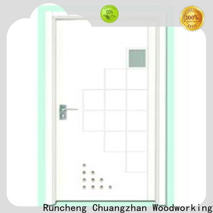 Runcheng Chuangzhan High-quality wooden flush door price company for hotels