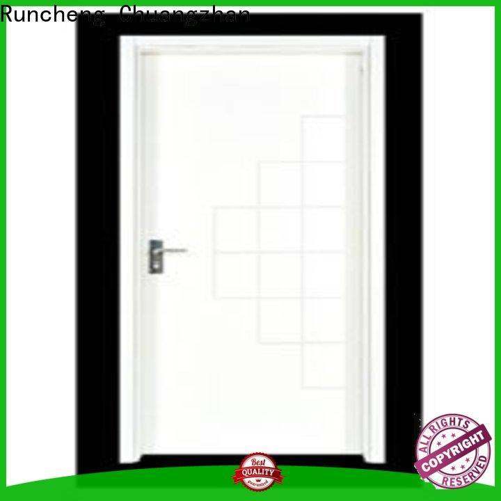 Runcheng Chuangzhan High-quality wooden flush door design manufacturers for homes