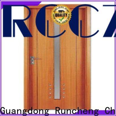 Runcheng Chuangzhan popular pine wood flush door manufacturer for business for offices