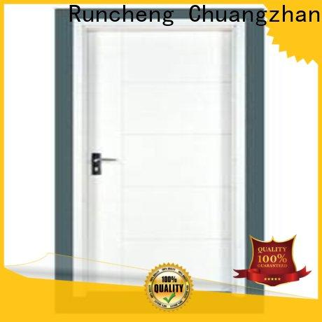 Runcheng Chuangzhan Wholesale wooden flush door for business for hotels