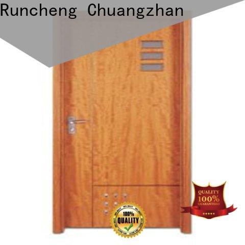 Latest wooden flush door price popular supply for villas