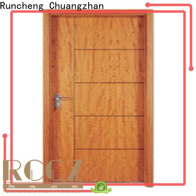Runcheng Chuangzhan design solid wood flush door suppliers for offices