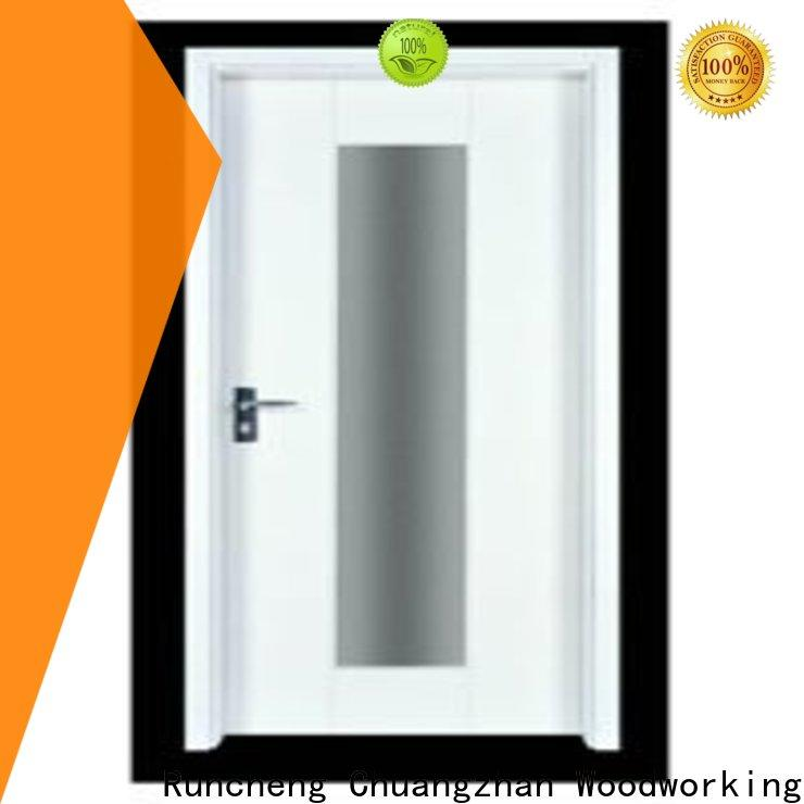 Runcheng Chuangzhan Wholesale pine wood flush door manufacturer factory for villas