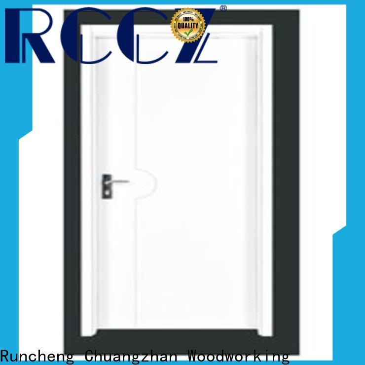 Runcheng Chuangzhan modern wooden flush door price list supply for offices