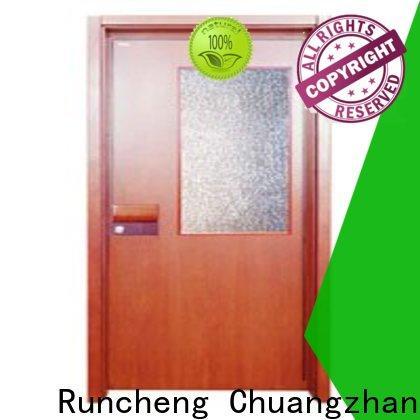 Runcheng Chuangzhan modern wooden flush door design for business for indoor