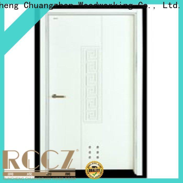 Runcheng Chuangzhan modern solid wood flush door factory for villas