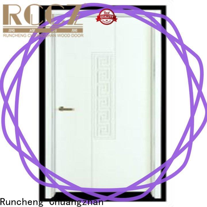 Custom wooden flush door popular manufacturers for homes