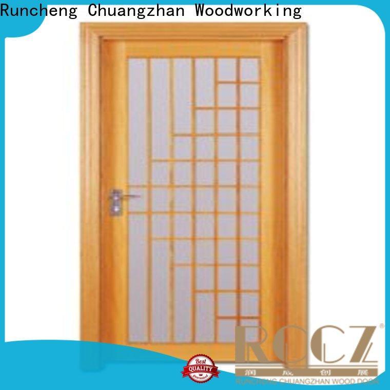 Runcheng Chuangzhan door bedroom door designs in wood factory for indoor