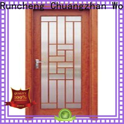 Runcheng Chuangzhan attractive double glazed interior doors suppliers for homes