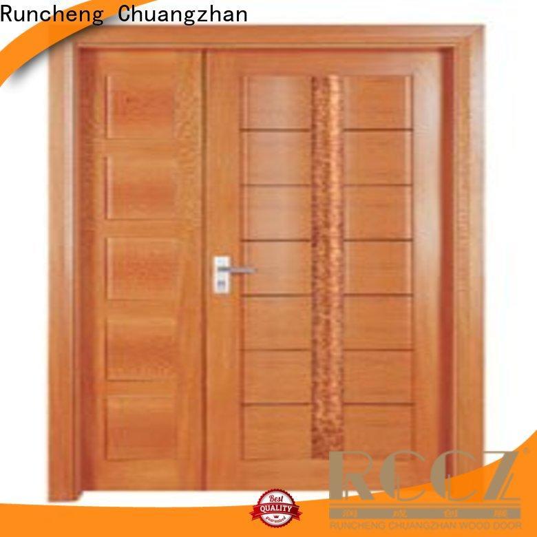 Runcheng Chuangzhan Top interior double doors factory for villas