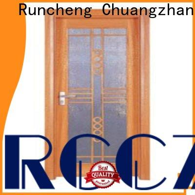 Runcheng Chuangzhan High-quality internal glazed double doors factory for offices