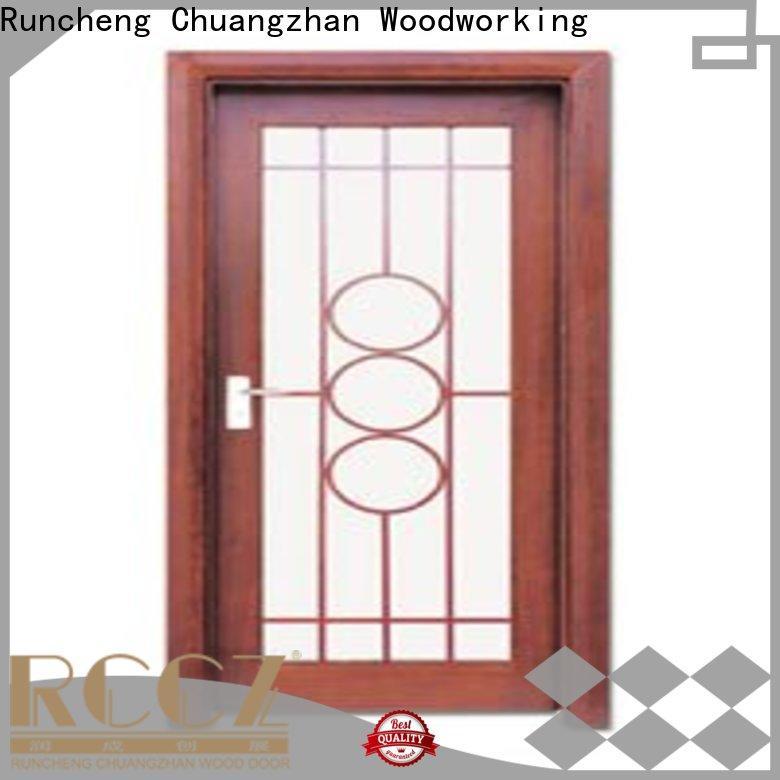 Runcheng Chuangzhan door internal glazed doors suppliers for villas
