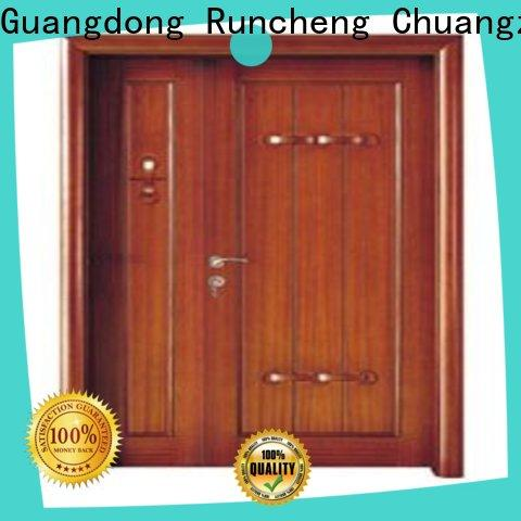 Top double entry doors eco-friendly supply for hotels