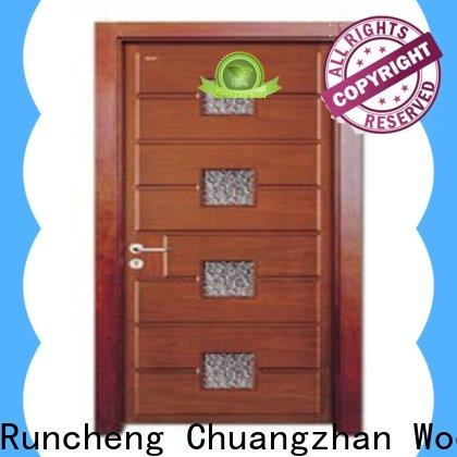 Runcheng Chuangzhan Wholesale internal glazed doors suppliers for villas