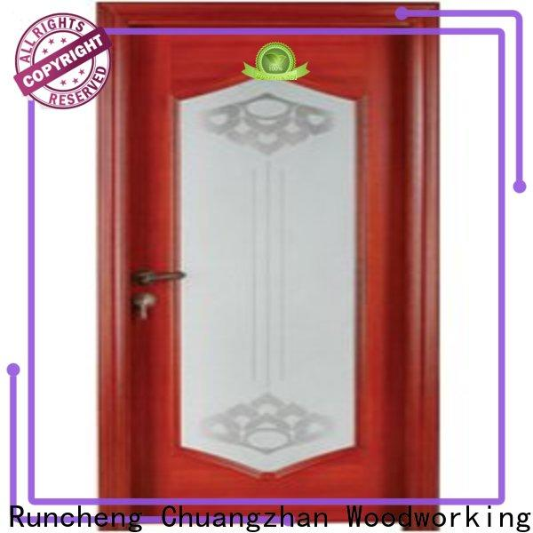 Runcheng Chuangzhan Wholesale wooden glazed internal doors suppliers for indoor