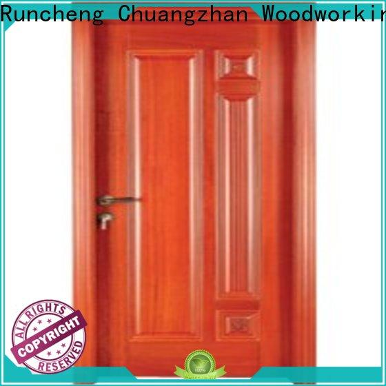 Runcheng Chuangzhan High-quality wooden bedroom door supply for offices
