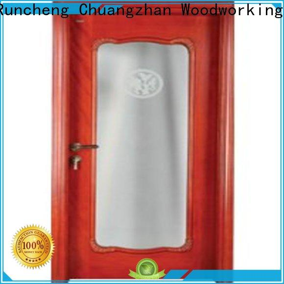 Runcheng Chuangzhan Custom internal glazed double doors suppliers for offices