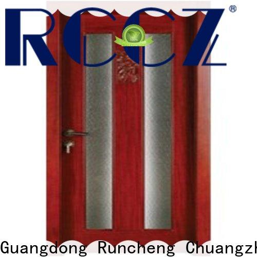 Runcheng Chuangzhan Top hardwood glazed doors manufacturers for offices