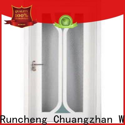 Runcheng Chuangzhan Custom internal glazed doors supply for hotels