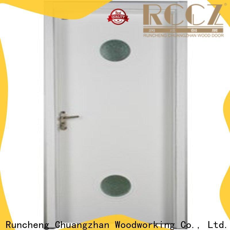 Custom interior glazed doors wood supply for indoor