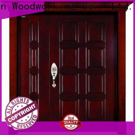 Runcheng Chuangzhan Top double wooden front doors company for villas