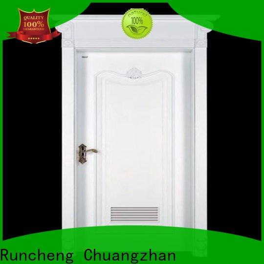 Runcheng Chuangzhan unique mdf composite wooden door for business for homes