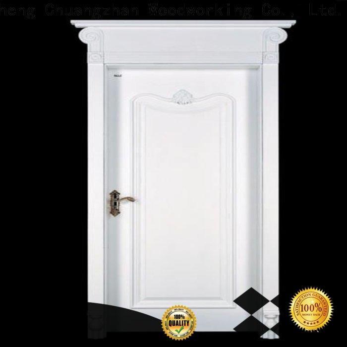 Runcheng Chuangzhan Top mdf composite wooden door factory for villas