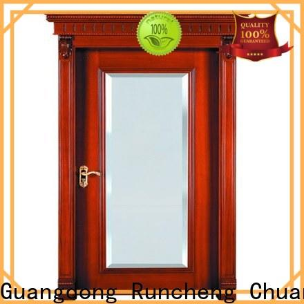 Runcheng Chuangzhan Top wood veneer door supply for homes