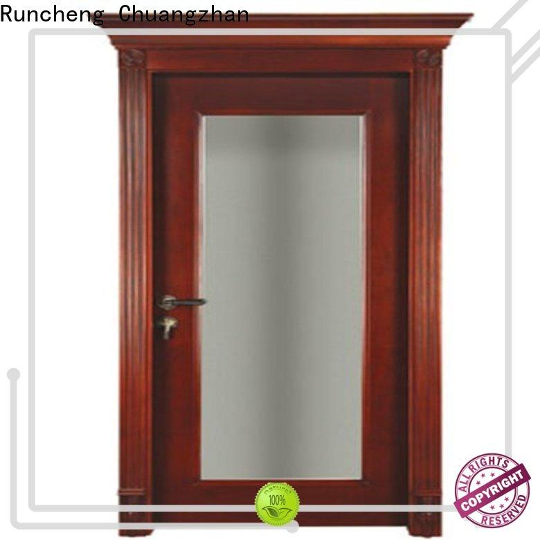 Wholesale solid wood compound door bathroom manufacturers for offices