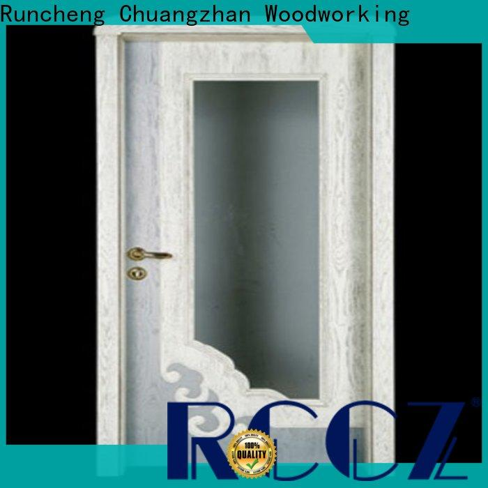 Runcheng Chuangzhan Custom wooden door supply for homes