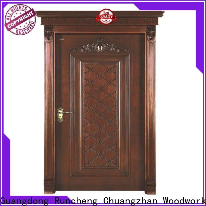 Runcheng Chuangzhan Wholesale interior wooden door with solid wood for business for homes