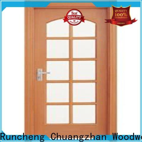 New wooden double glazed doors durability company for hotels
