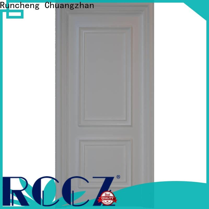 Runcheng Chuangzhan Best solid mdf doors manufacturers for villas