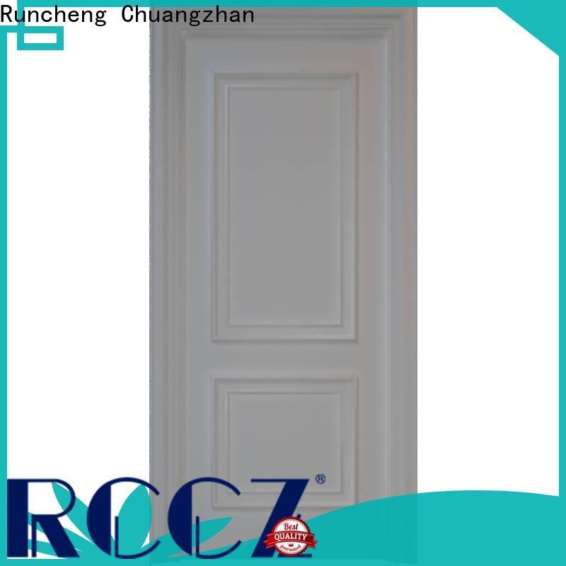 Runcheng Chuangzhan Best solid mdf doors manufacturers for villas