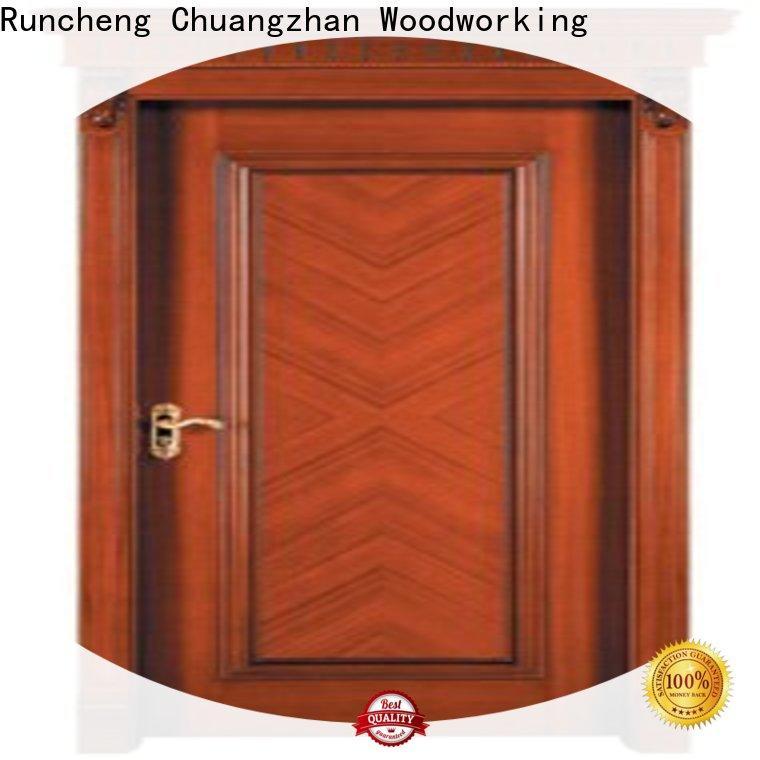 Runcheng Chuangzhan wood steelwood doors suppliers for homes