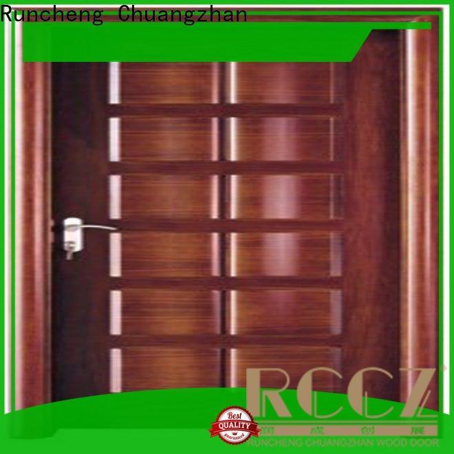 Runcheng Chuangzhan steel steel doors supply for homes